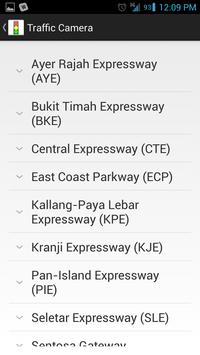 Singapore Traffic Info screenshot 2