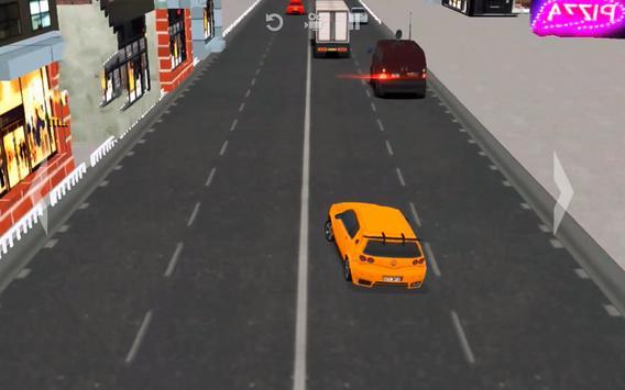 Super Speed Traffic Car Racer Driving Simulator 3D screenshot 1