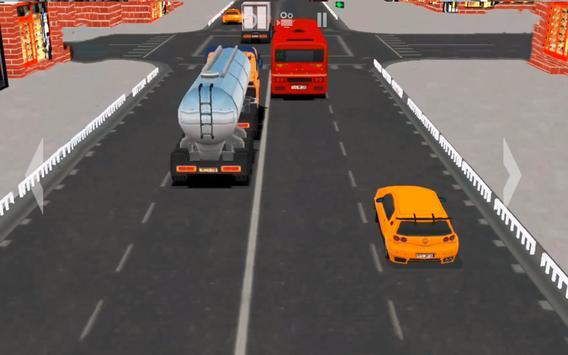 Super Speed Traffic Car Racer Driving Simulator 3D screenshot 2