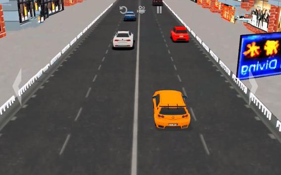 Super Speed Traffic Car Racer Driving Simulator 3D screenshot 3