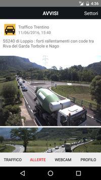 Traffico Trentino poster
