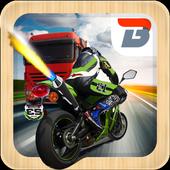 Traffic Highway Bike Rider icon