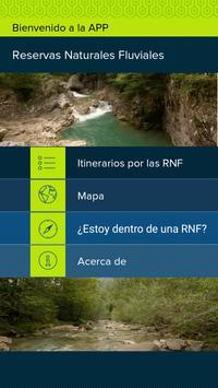 Reservas Naturales Fluviales poster
