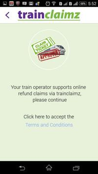 Trainclaimz apk screenshot