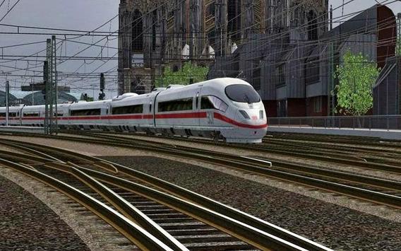 Train & Railway Simulator Game poster