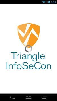 Triangle InfoSeCon poster