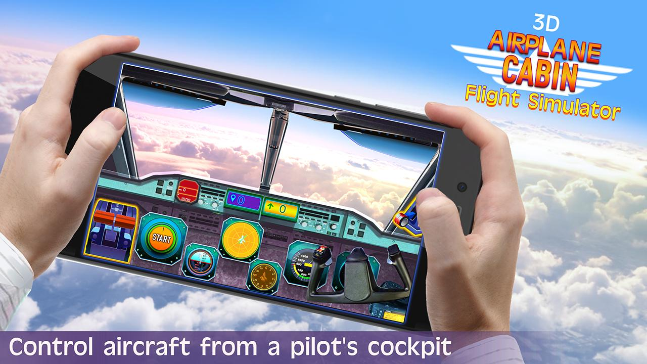 Airplane Cockpit Flight Control Simulator 3D for Android - APK Download
