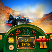 Steam Train Driving icon