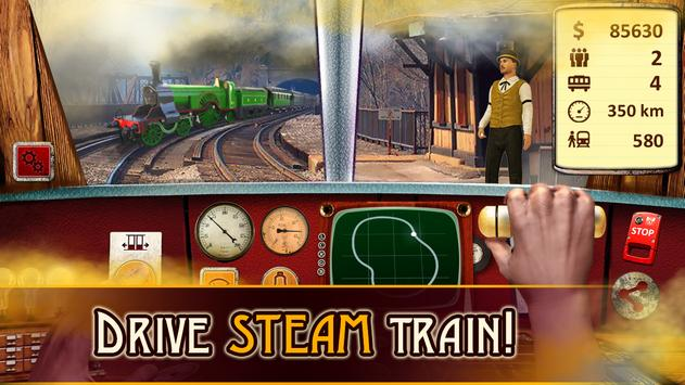 Steam Train Driving poster