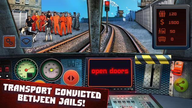 Police Train Driving apk screenshot