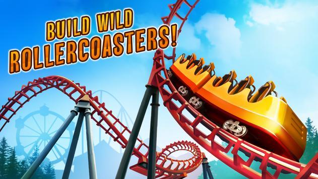 Roller Coaster Train Simulator स्क्रीनशॉट 9