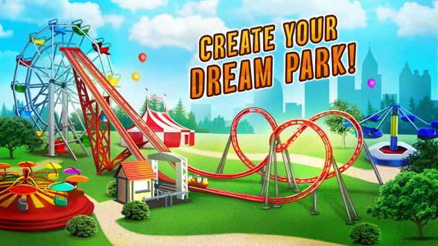 Roller Coaster Train Simulator स्क्रीनशॉट 11