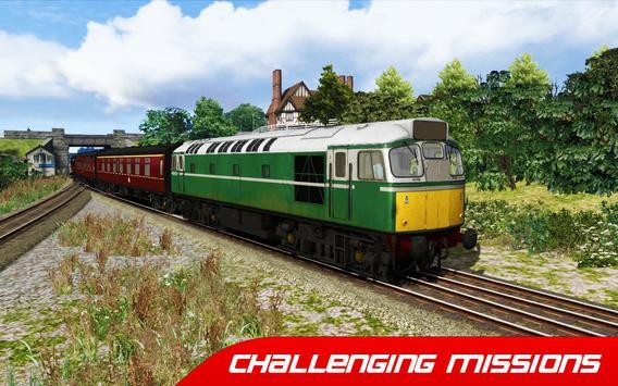 Train Simulator : Euro Rail Transport Driving Game screenshot 1