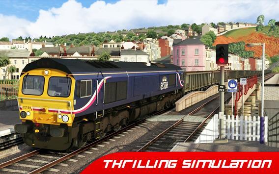 Train Simulator : Euro Rail Transport Driving Game screenshot 3