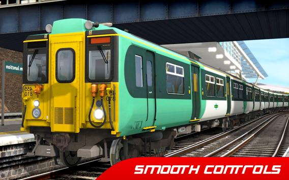 Train Simulator : Euro Rail Transport Driving Game screenshot 8