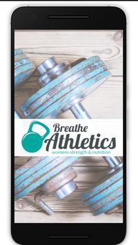 Breathe Athletics App poster