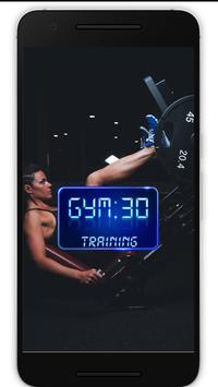GYM30 TRAINING APP poster