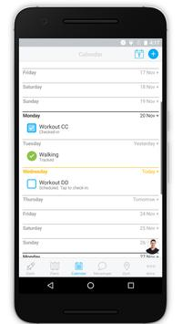 GYM30 TRAINING APP screenshot 2