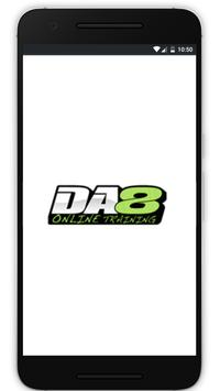 DA8 Online Training poster