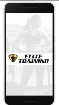 Elite Training USA Fitness App poster