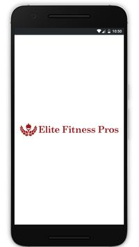 Elite Fitness Pros App poster