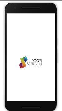 Igor Surian Personal Trainer poster