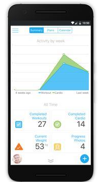 JB Health and Performance apk screenshot