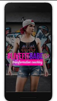 LiveFitBabe App poster