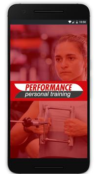Performance Personal Training poster