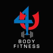 The 4 U Body Fitness App icon