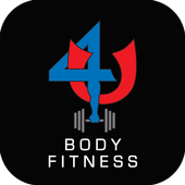 The 4 U Body Fitness App icon