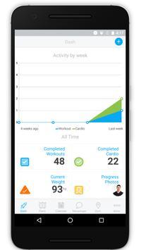 The 4 U Body Fitness App screenshot 1