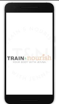 Train and Nourish poster