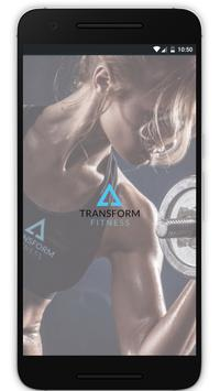 Transform Fitness App poster