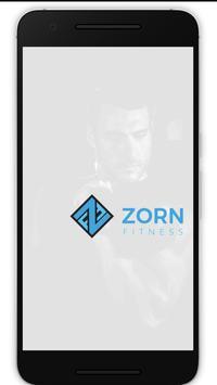 Zorn Fitness poster