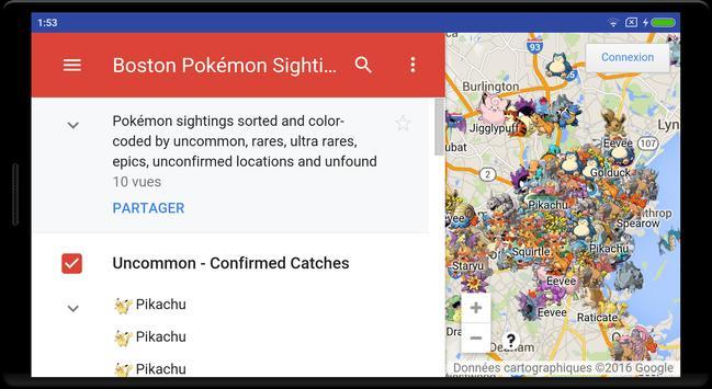 Boston Go map screenshot 4