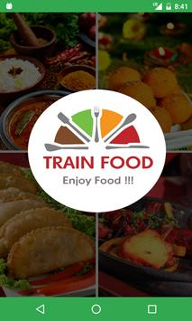 TRAIN FOOD - RAILWAY poster