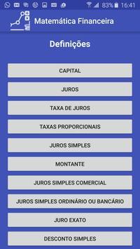 Matemática Financeira screenshot 2