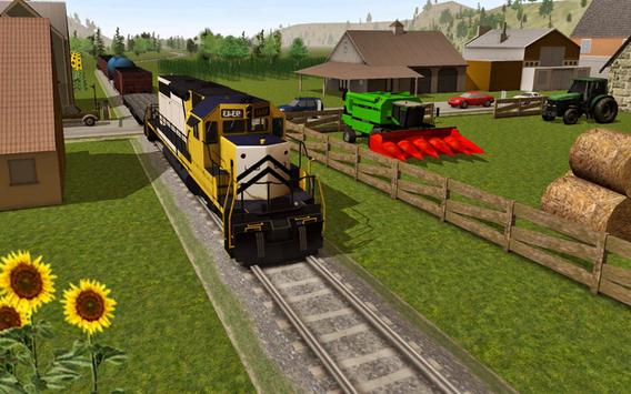 Train Drive Simulator 2016 poster