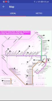 Chennai Suburban Train Timings App screenshot 3