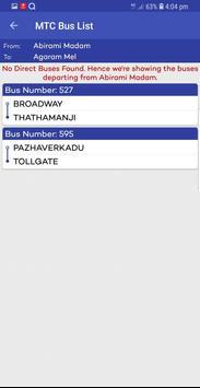 Chennai Suburban Train Timings App screenshot 11
