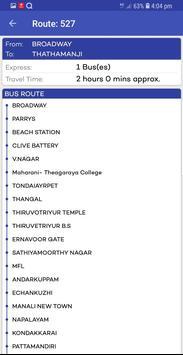 Chennai Suburban Train Timings App screenshot 12