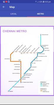 Chennai Suburban Train Timings App screenshot 4