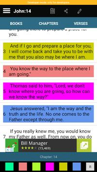 Holy Bible NKJV screenshot 3