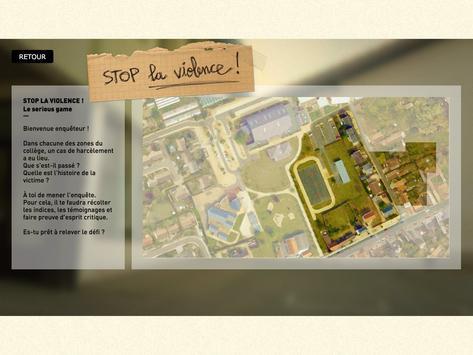 Stop la violence ! - MAE poster