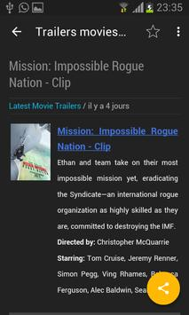 Movie Trallers apk screenshot