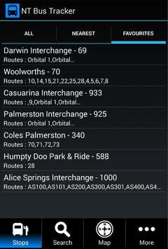 NT Bus Tracker poster