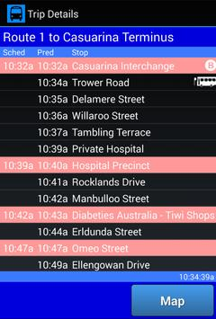 NT Bus Tracker apk screenshot