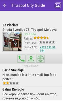 Tiraspol City Guide apk screenshot