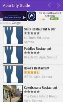 Apia City Guide screenshot 2